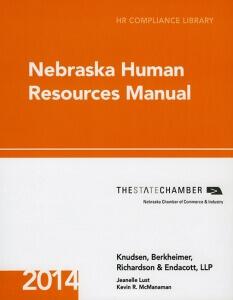 Knudsen Law - 2014 Nebraska Human Resources Manual
