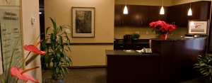 Knudsen Law Reception Area, Lincoln NE