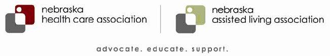 Nebraska Heath Care Association / Nebraska Assisted Living Association Logos