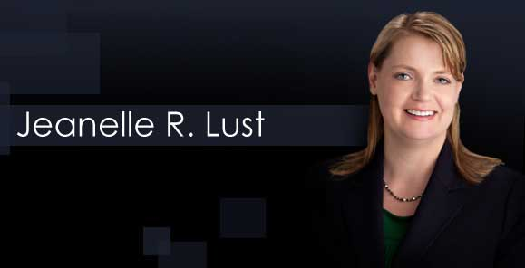 Jeanelle Lust, Knudsen Law Firm