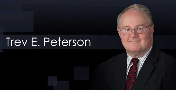 Trev E. Peterson, Knudsen Law Firm